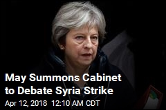 UK PM Summons Cabinet to Discuss Syria Strike