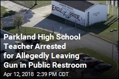 Stoneman Douglas Teacher Arrested for Allegedly Leaving Gun in Public Restroom