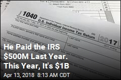 One American Actually Owes the IRS $1 Billion