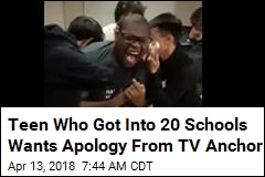 20 Schools Want This Teen. He Wants Fox 5 to Apologize