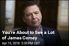 Comey Book Blitz Kicks Off With ABC Interview