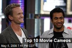 Top 10 Movie Cameos