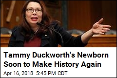 Tammy Duckworth Wants to Bring Her Baby to Work