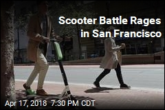 Scooter Battle Rages in San Francisco