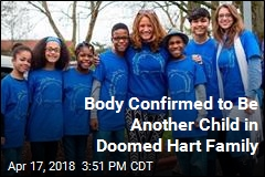 Body Confirmed to Be Another Child in Doomed Hart Family