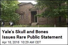 Yale's Skull and Bones Issues Rare Public Statement