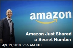 Amazon Just Shared a Secret Number