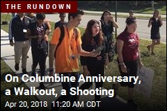On Columbine Anniversary, a Walkout, a Shooting