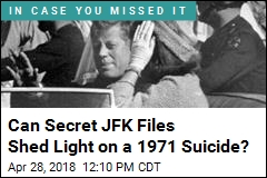 Can Secret JFK Files Shed Light on Diplomat's Suicide?