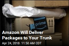 Amazon Will Deliver Packages to Your Trunk