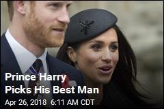 Prince Harry Picks His Best Man