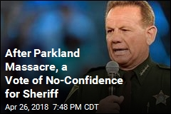 After School Massacre, a Vote of No-Confidence for Sheriff