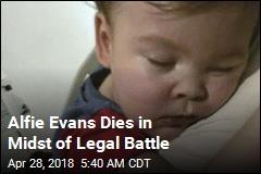 Sick Toddler Caught in UK Legal Battle Dies