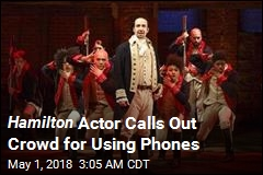 Hamilton Actor Calls Out Crowd for Using Phones