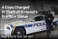 4 Cops Charged in Theft of Suspect's Scarface Statue