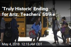 Pay Rise Ends Arizona Teachers' Strike