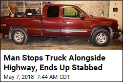 He Was Driving Home in This Truck, Ended Up Stabbed