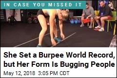 She Set a Burpee World Record, Got Pilloried for Her Form