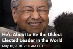 He's About to Be the Oldest Elected Leader in the World