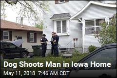 Dog Shoots Man in Iowa Home