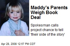 Maddy's Parents Weigh Book Deal