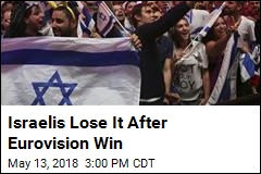 Israelis Take to The Streets After Eurovision Win