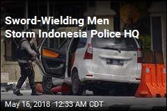 Indonesia Cops Shoot 4 Sword-Wielding Attackers