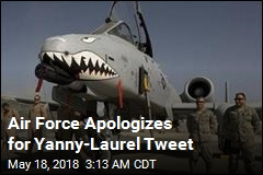 Air Force Apologizes for Yanny-Laurel Tweet