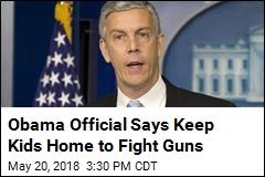 Ex Education Secretary: Keep Kids Home to Change Gun Laws