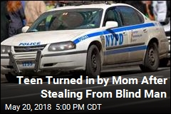 14-Year-Old Kid Pretends He's a Cop to Rob Blind Man