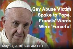 Gay Man Says Pope Told Him: 'God Made You Like This'