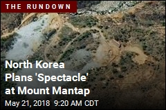 North Korea Plans 'Spectacle' at Mount Mantap