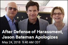 After Defense of Harassment, Jason Bateman Apologizes