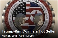 Trump-Kim Coin Is a Hot Seller