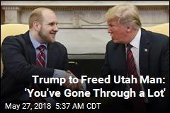 Freed Utah Man 'Overwhelmed With Gratitude'
