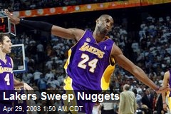 Lakers Sweep Nuggets