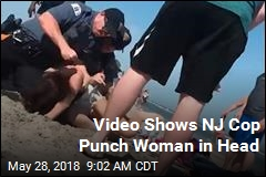 Video Shows NJ Cop Punch Woman in Head