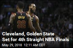 Cleveland, Golden State Set for 4th Straight NBA Finals
