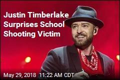 Justin Timberlake Surprises School Shooting Victim