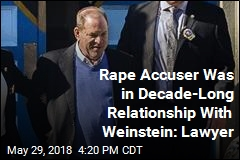 Rape Accuser Was in Decade-Long Relationship With Weinstein: Lawyer