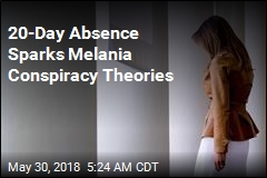 20-Day Absence Sparks Melania Conspiracy Theories