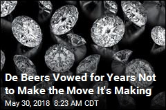 De Beers Vowed for Years Not to Make the Move It's Making