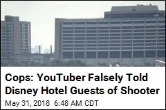 Cops: YouTuber Falsely Told Disney Hotel Guests of Shooter