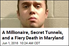 A Millionaire, Secret Tunnels, and a Fiery Death in Maryland
