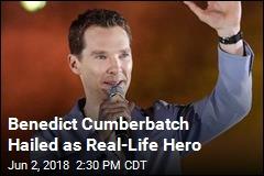 Benedict Cumberbatch Foils Real Life Mugging