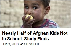 Nearly Half of Afghan Kids Not in School, Study Finds