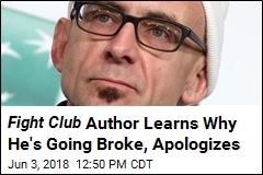 Fight Club Author Apologizes After Alleged Theft Revealed