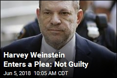 Harvey Weinstein Pleads Not Guilty to Rape, Sex Charges