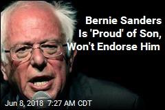 Why Bernie Won't Endorse His Own Son