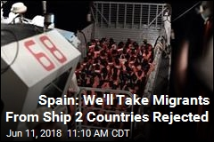 Spain: We'll Take Migrants From Drifting Ship Italy Rejected